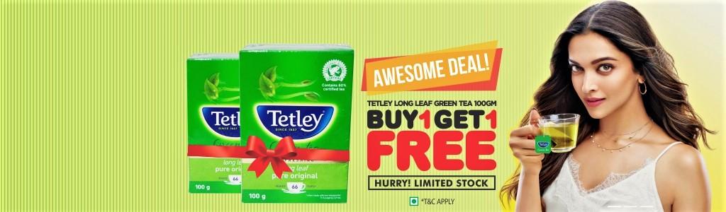 TETLEY GREEN TEA COMBO
