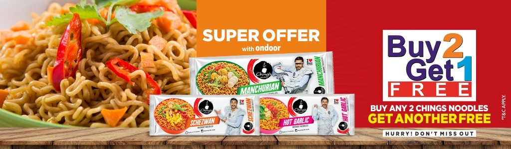 CHINGS NOODLES COMBO OFFER