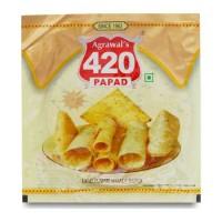 AGRAWAL 420 URAD PUNJABI PAPAD 100.00 GM PACKET