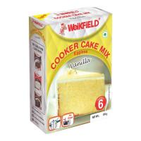 WEIKFIELD COOKER CAKE MIX VANILLA EGGLESS 150.00 GM PACKET