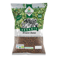 24 MANTRA ORGANIC BROWN CHANA 500.00 GM PACKET
