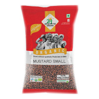 24 MANTRA ORGANIC MUSTARD SMALL 100.00 GM PACKET