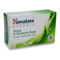 HIMALAYA NEEM & TURMERIC SOAP 75.00 GM BAR