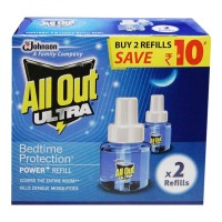ALL OUT ULTRA POWER+ REFILL 2X 45.00 ML BOX