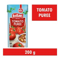 KISSAN TOMATO PUREE 200.00 GM BOX