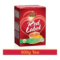 BROOKE BOND RED LABEL TEA 500.00 GM BOX
