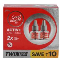 GOOD KNIGHT ACTIVE+ CARTRIDGE 2X 45.00 ML BOX