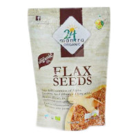 24 MANTRA ORGANIC LIFE FLAX SEEDS 200.00 Gm Packet