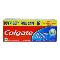 COLGATE STRONG TEETH  TOOTHPASTE 500.00 Gm Box