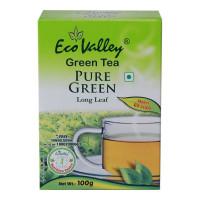 ECO VALLEY GREEN TEA LONG LEAF 100 GM