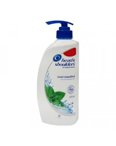 HEAD & SHOULDER COOL MENTHOL SHAMPOO 675.00 ML BOTTLE