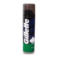 GILLETTE FOAM MENTHOL 196.00 GM BOTTLE