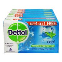 DETTOL COOL SOAP 4X 125.00 GM BAR