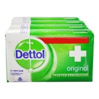 DETTOL ORIGINAL SOAP 4X 75.00 GM BAR