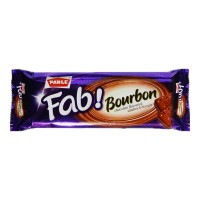 PARLE FAB BOURBON CHOCOLATE BISCUITS 150.00 GM PACKET