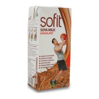 SOFIT SOYA CHOCOLATE PROTEIN MILK DRINK 1.00 LTR TETRAPACK