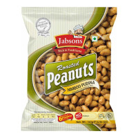 JABSONS ROSTED PEANUTS NIMBOO PUDINA 140 Gm Packet