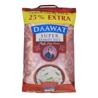 DAAWAT SUPER BASMATI RICE 5.00 Kg Bag