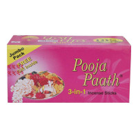 POOJA-PAATH 3 IN 1 AGARBATTI 380.00 GM PACKET