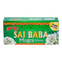 AVIG SAI BABA MOGRA DHOOP 10 STICKS 1.00 NO BOX