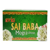 AVIG SAI BABA MOGRA DHOOP 20 STICKS 1.00 NO BOX