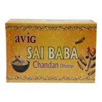 AVIG SAI BABA CHANDAN DHOOP 20 STICKS 1.00 NO PACKET