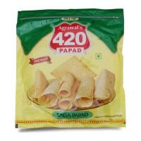 AGRAWAL 420 SADA PAPAD 400.00 GM PACKET