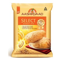 AASHIRVAAD SELECT SHARBATI WHOLE WHEAT ATTA 5.00 KG BAG
