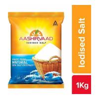 AASHIRVAAD IODISED SALT 1.00 KG PACKET