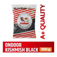 ONDOOR KISHMISH BLACK PACKED 100.00 GM PACKET