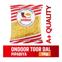 ONDOOR TOOR/ARHAR DAL PIPARIYA PACKED 1.00 KG PACKET