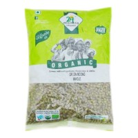 24 MANTRA ORGANIC GREEN MOONG WHOLE DAL 500 Gm Packet