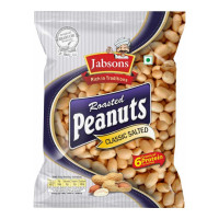 JABSONS ROASTED PEANUTS CLASSIC SALTED 160.00 GM PACKET