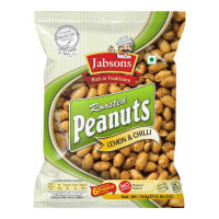 JABSONS ROASTED PEANUTS LEMON AND CHILLI 140 Gm Packet