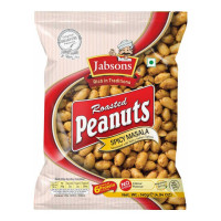 JABSONS ROASTED PEANUTS SPICY MASALA 140 GM PACKET