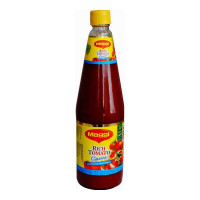 MAGGI RICH TOMATO SAUCE NO ONION NO GARLIC 1.00 KG BOTTLE