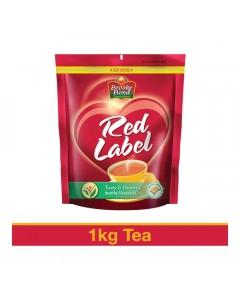 BROOKE BOND RED LABEL TEA 1 00 KG PACKET