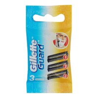 GILLETTE GUARD BASE 3 CARTRIDGE 1.00 NO PACKET