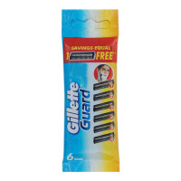 GILLETTE GUARD BASE 6 CARTRIDGE 1.00 NO PACKET
