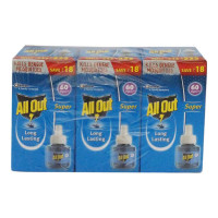 ALL OUT SUPER REFILL 60 NIGHTS 3X 45.00 ML BOX