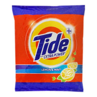 TIDE PLUS LEMON & MINT DETERGENT POWDER PACKET