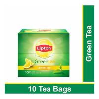 LIPTON GREEN TEA LEMON ZEST 10 TEA BAGS 10.00 NO