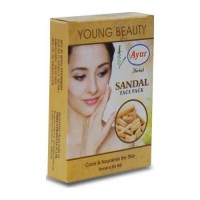 AYUR HERBALS SANDAL FACE PACK 25.00 GM BOX