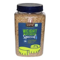 INDIA GATE WEIGHT WATCHERS BROWN RICE 1.00 KG JAR