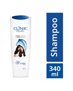 CLINIC PLUS STRONG & LONG HEALTH SHAMPOO BOTTLE