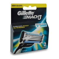 GILLETTE MACH3 2 CARTRIDGE PACK 1.00 NO PACKET