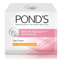 PONDS WHITE BEAUTY ANTI SPOT  DAY CREAM SPF 15 PA++ 35.00 GM BOX