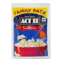 ACT II CLASSIC SALTED POPCORN 90.00 GM PACKET
