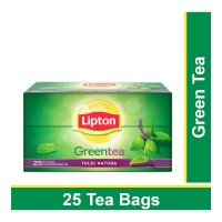 LIPTON GREEN TEA TULSI NATURA 25 TEA BAGS 1.00 NO PACKET