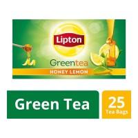 LIPTON GREEN TEA HONEY LEMON 25 TEA BAGS 1.00 NO BOX